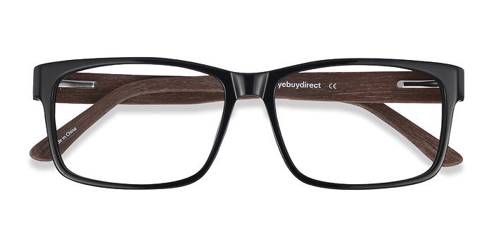 Black/brown Lexington -  Classic Acetate Eyeglasses