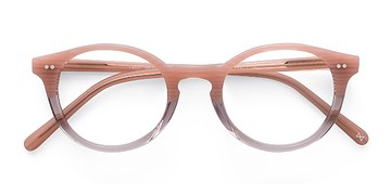 Frosted Rose Fade -  Designer Acetate Eyeglasses