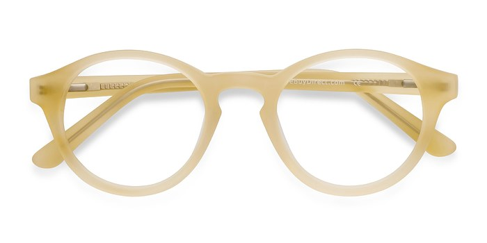 Matte Yellow  Dreamy -  Colorful Acetate Eyeglasses