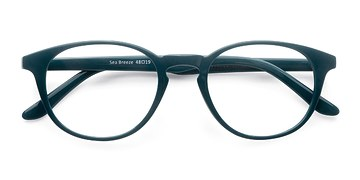 Green Sea Breeze -  Colorful Plastic Eyeglasses