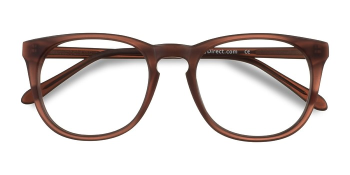 Matte Brown Providence -  Geek Acetate Eyeglasses