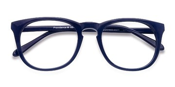 Navy Providence -  Colorful Acetate Eyeglasses