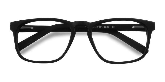 Matte Black Rhode Island -  Geek Acetate Eyeglasses
