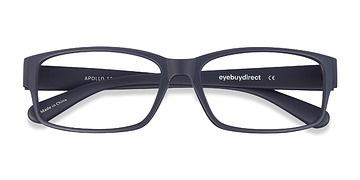 Matte Navy Apollo -  Plastic Eyeglasses