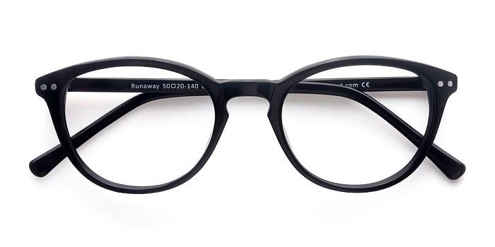 Black Runaway -  Fashion Acetate Eyeglasses