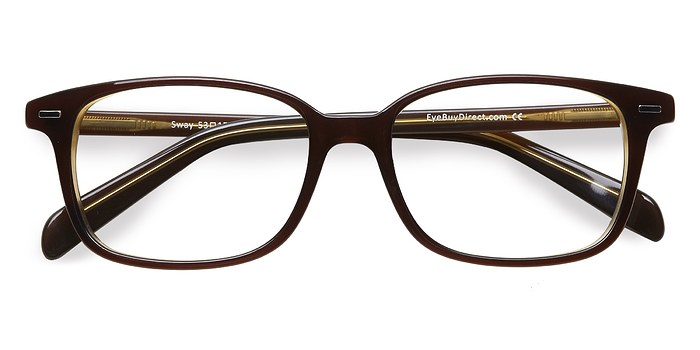 Brown Sway -  Acetate Eyeglasses