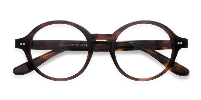 Matte Tortoise Aprem -  Vintage Acetate Eyeglasses