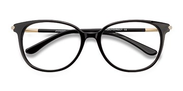 Black Jasmine -  Acetate Eyeglasses