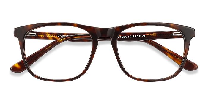 Tortoise Damien -  Acetate Eyeglasses