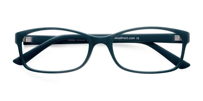 Matte Green Beads -  Classic Plastic Eyeglasses