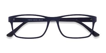 Matte Navy Firefly -  Classic Plastic Eyeglasses
