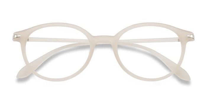 Clear White Indigo -  Plastic Eyeglasses