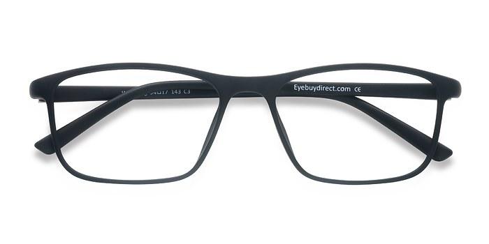 Matte Black Wyoming -  Plastic Eyeglasses