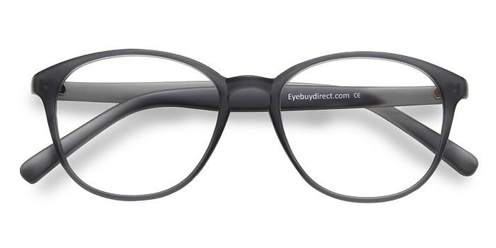 Matte Gray Watermelon -  Fashion Plastic Eyeglasses