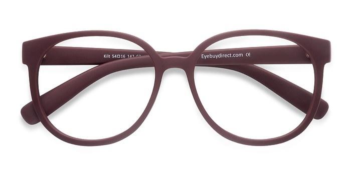Matte Coral Kilt -  Plastic Eyeglasses