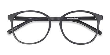 Matte Black Dutchess -  Fashion Plastic Eyeglasses