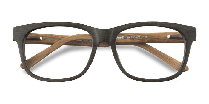Olive White Pine -  Geek Wood Texture Eyeglasses