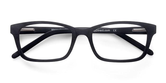 Matte Black Mesquite -  Classic Acetate Eyeglasses
