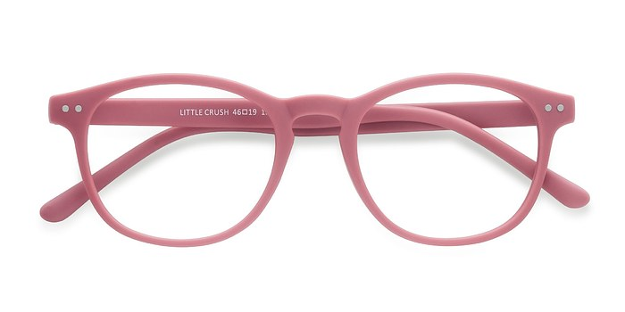 Matte Pink Little Crush -  Colorful Plastic Eyeglasses