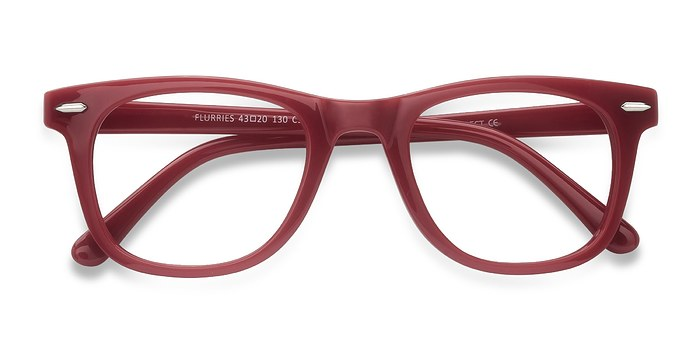 Pink Flurries -  Colorful Plastic Eyeglasses