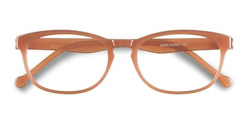 Coral Little Drums -  Colorful Plastic Eyeglasses