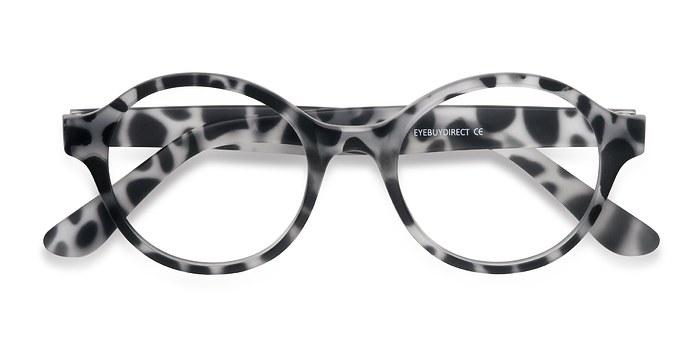 Leopard Little Plato -  Plastic Eyeglasses