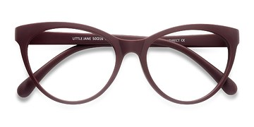Red Little Jane -  Plastic Eyeglasses