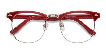 Red Little Coexist -  Colorful Plastic Eyeglasses