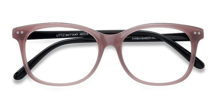 Pink Black Little Brittany -  Plastic Eyeglasses