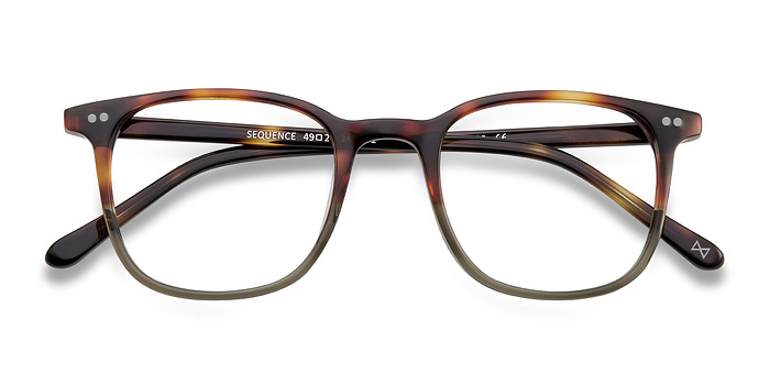 Charred Quartz Sequence -  Acetate Eyeglasses