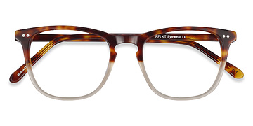 Macchiato Tortoise Exposure -  Vintage Acetate Eyeglasses