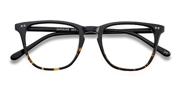 Jet Amber Exposure -  Acetate Eyeglasses