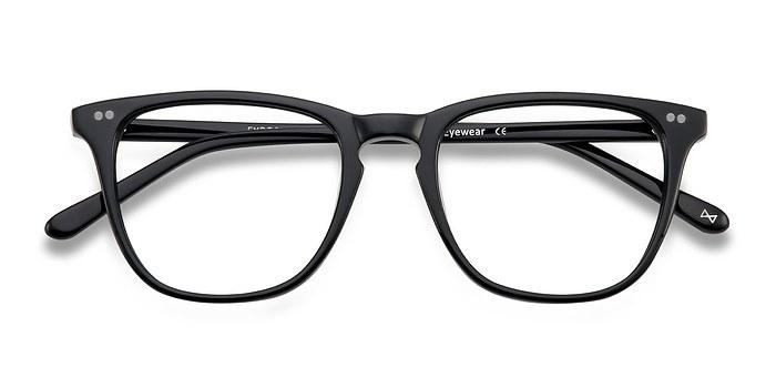Jet Black Exposure -  Acetate Eyeglasses