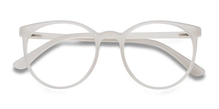 Clear Pink Portrait -  Plastic Eyeglasses