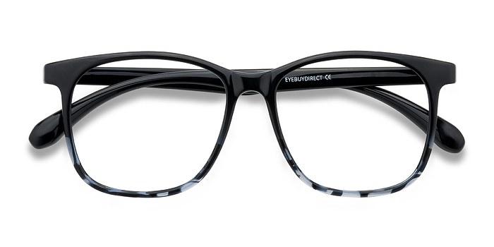 Black Navy Character -  Plastic Eyeglasses