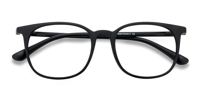 Matte Black Cheer -  Plastic Eyeglasses