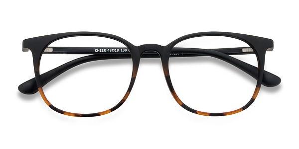 Cheer prescription eyeglasses (Black Tortoise)