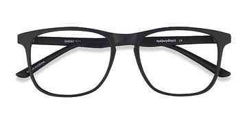 Matte Black Ghent -  Plastic Eyeglasses