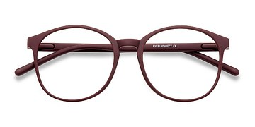 Matte Red Days -  Plastic Eyeglasses