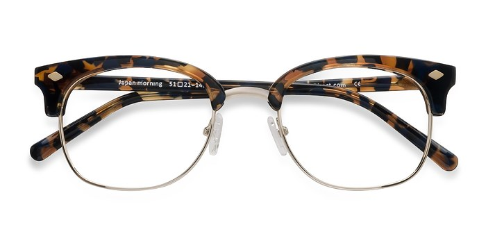 Tortoise  Japan Morning -  Designer Acetate Eyeglasses