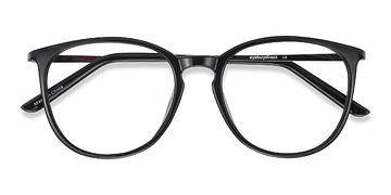 Black Naomi -  Plastic Eyeglasses