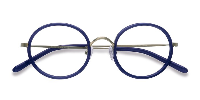Navy Gemini -  Colorful Acetate Eyeglasses
