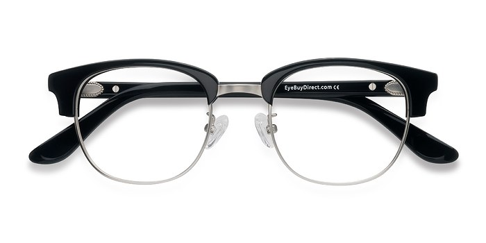 Black Bansai -  Vintage Acetate Eyeglasses