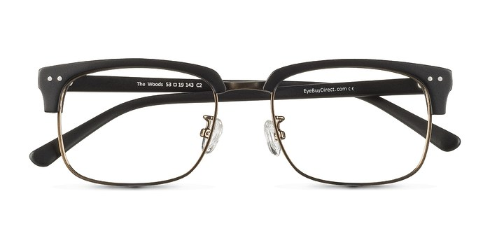 Black The Woods -  Designer Acetate Eyeglasses
