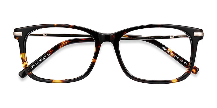 Tortoise Phase -  Acetate Eyeglasses