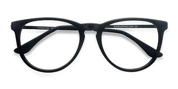 Matte Black Ultraviolet -  Acetate Eyeglasses