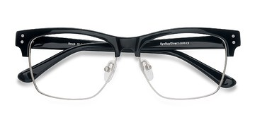 Black Benoit -  Acetate Eyeglasses