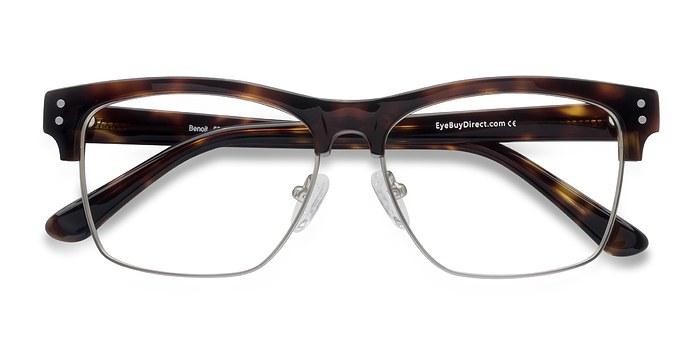 Tortoise Benoit -  Designer Acetate Eyeglasses
