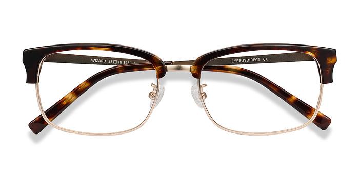 Tortoise Wizard -  Designer Acetate Eyeglasses