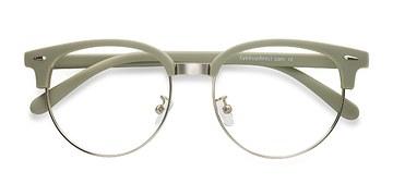 Light Green Narita -  Vintage Metal Eyeglasses